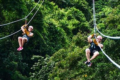 Zipline Adventure In Punta Cana Wisdom Travel